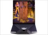 Star Wars 3D Hologram 'Han Solo'  (Full-parallax Hologram)_
