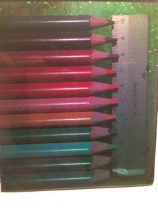colour pencils rgb hologram